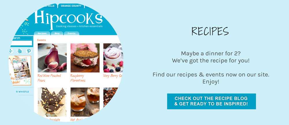 Our Recipe page!!