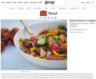 Goop Website
